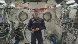 Extended: Canadian astronaut David Saint-Jacques passes 100 days in space